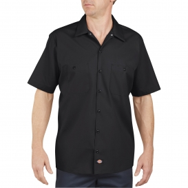Dickies LS535 Industrial Short Sleeve Work Shirt - Black