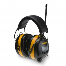 DeWalt DPG15 Digital AM/FM Radio Ear Muffs - 25 NRR