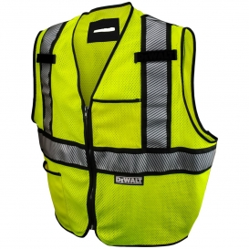 DeWalt DSV971 Type R Class 2 Modacrylic FR Mesh Safety Vest - Yellow/Lime
