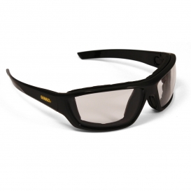 DeWalt DPG83-91 Converter Safety Glasses/Goggles - Black Frame - Indoor/Outdoor Anti-Fog Mirror Lens