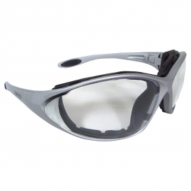 DeWalt DPG95-11 Framework Safety Glasses/Goggles - Silver Frame - Clear Anti-Fog Lens