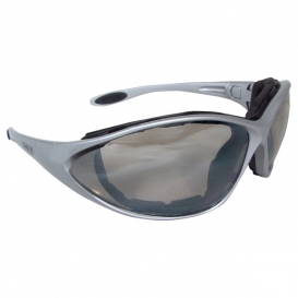 DeWalt DPG95-9D Framework Safety Glasses/Goggles - Silver Frame - Indoor/Outdoor Mirror Lens