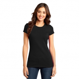 District DT6001 Juniors Very Important Tee - Black
