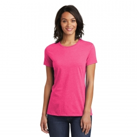District DT6002 Women's Very Important Tee - Fuchsia Frost