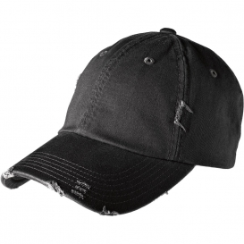 District DT600 Distressed Cap - Black