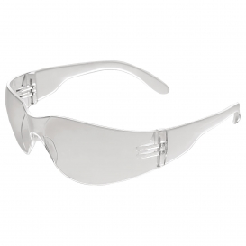 ERB IProtect Safety Glasses - Clear Frame - Clear Anti-Fog Lens
