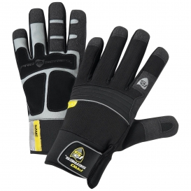 ERB Waterproof Winter Lined and PVC Grip Gloves