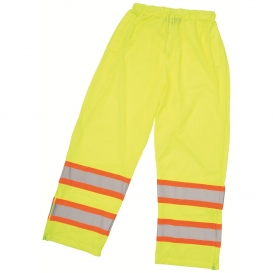 ERB S210 Class E Mesh Safety Pants - Yellow/Lime