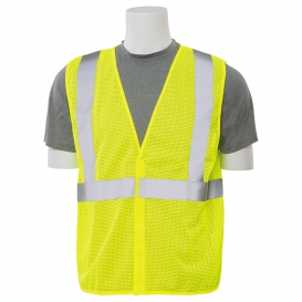 ERB S362 Type R Class 2 Mesh Economy Safety Vest - Yellow/Lime