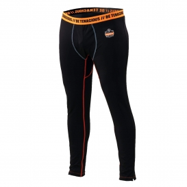 Ergodyne N-Ferno 6480 Base Layer Thermal Bottoms - Black