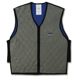 Ergodyne Chill-Its 6665 Cooling Vest with Polymers - Gray