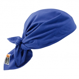 Ergodyne Chill-Its 6710FR Cooling FR Triangle Hat with Polymers - Blue