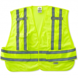 Ergodyne GloWear 8244PSV Expandable Public Safety Vest - Yellow/Lime