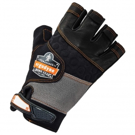 Ergodyne ProFlex 901 Half-Finger Leather Impact Gloves