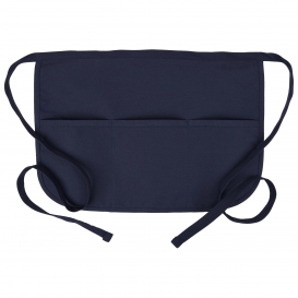 Fame F30 Cafe Rounded Apron with Pockets - Navy