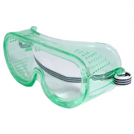 Radians Perforated Safety Goggles - Clear Frame - Clear Uncoated Lens