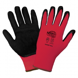 Global Glove 500MF Tsunami Grip Mach Finish Nitrile Coated Gloves