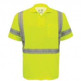 Global Glove GLO-209 FrogWear Type R Class 3 Premium Safety Polo