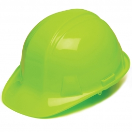 Pyramex HP14131 Hard Hat - 4-Point Ratchet Suspension - Hi-Viz Green
