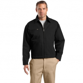 CornerStone J763 Duck Cloth Work Jacket - Black