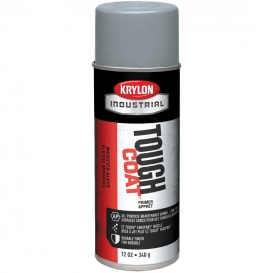 Krylon A00341007 Tough Coat Acrylic Enamel Primer - Light Gray Sandable