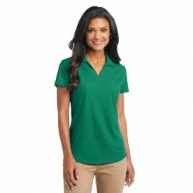 Port Authority L572 Ladies Dry Zone Grid Polo - Jewel Green