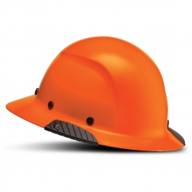 LIFT Safety HDF-18 DAX Full Brim Hard Hat - Ratchet Suspension - Orange