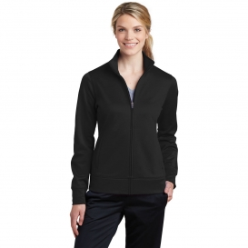 Sport Tek Lst241 Ladies Sport Wick Fleece Full Zip Jacket Black Fullsource Com 4.1 out of 5 stars 11. sport tek