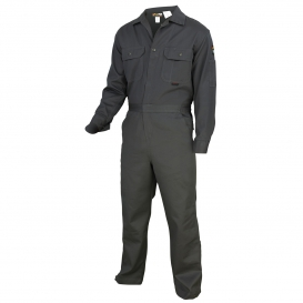 MCR Safety DC1G Deluxe Contractor FR Coveralls - Gray