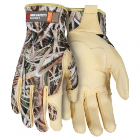 MCR Safety MO991 ForceFlex Premium Goatskin Palm Mechanics Gloves