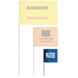 Presco Printed Wire Marking Flags 2 H x 3 W