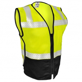 ML Kishigo FM410 Black Series Mesh FR Safety Vest - Yellow/Lime