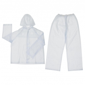MCR Safety O722 Squall 2-Piece Suit -.20mm PVC - Clear