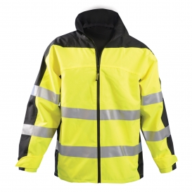OccuNomix SP-BRJ Speed Collection Type R Class 3 Breathable Rain Jacket
