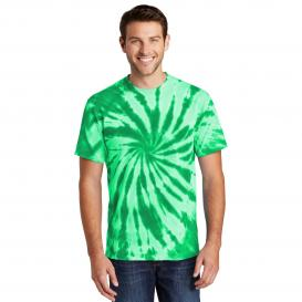 Port & Company PC147 Tie-Dye Tee - Kelly