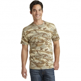 Port & Company PC54C Core Cotton Camo Tee