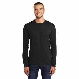 Port & Company PC55LS Long Sleeve 50/50 Cotton/Poly T-Shirt - Jet Black