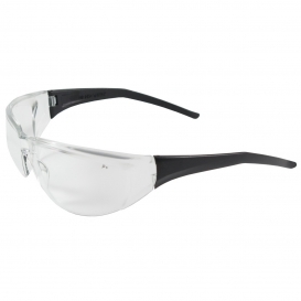 Bouton Tranzmission Safety Glasses - Black Temples - Clear Lens