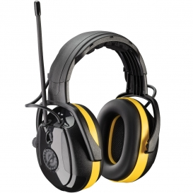 PIP 264-45002 Hellberg Relax Electronic Ear Muffs with Headband Adjustment & AM/FM Radio - NRR 24