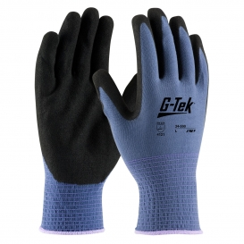 PIP 34-500 G-Tek GP Seamless Knit Nylon Gloves - Nitrile Coated MicroSurface Grip on Palm & Fingers