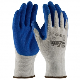 PIP 39-1310 G-Tek Seamless Knit Cotton/Polyester Gloves - Latex Coated Crinkle Grip on Palm & Fingers - Economy Grade