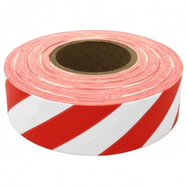 Presco SWR Striped Roll Flagging Tape - White/Red