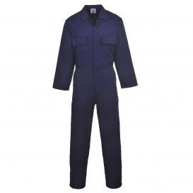 Portwest S999 Euro Work Polycotton Coverall - Navy