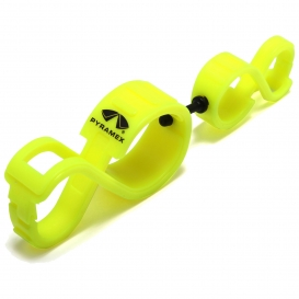 Pyramex GLC120 Glove Clip with Pyramex Logo - Yellow