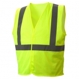 Pyramex RVHLM2910 Type R Class 2 Mesh Safety Vest - Yellow/Lime