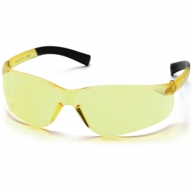 Pyramex S2530SN Mini Intruder Safety Glasses - Amber Temples - Amber Lens
