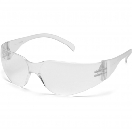 Pyramex S4110ST Intruder Safety Glasses - Clear Temples - Clear Anti-Fog Lens