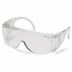 Pyramex S510SD Solo Safety Glasses - Clear Lens - 12 Pack