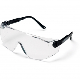 Pyramex SB1010S Defiant Safety Glasses - Black Temples - Clear Lens