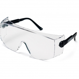 Pyramex SB1010SJ Defiant Safety Glasses - Black Temples - Large Clear Lens